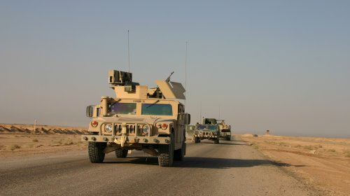 Humvees on Patrol