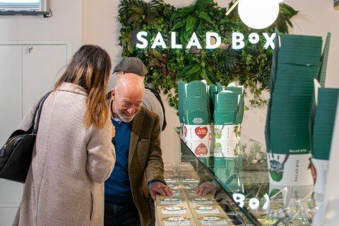 SaladBox - counter